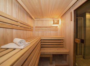 Sauna do ogrodu
