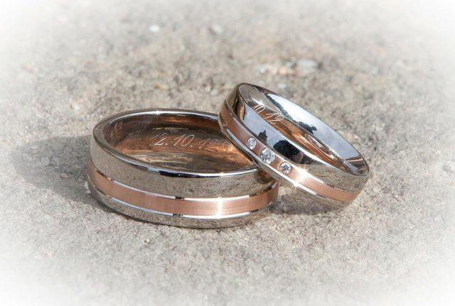 Rodzaje obrączek ślubnych