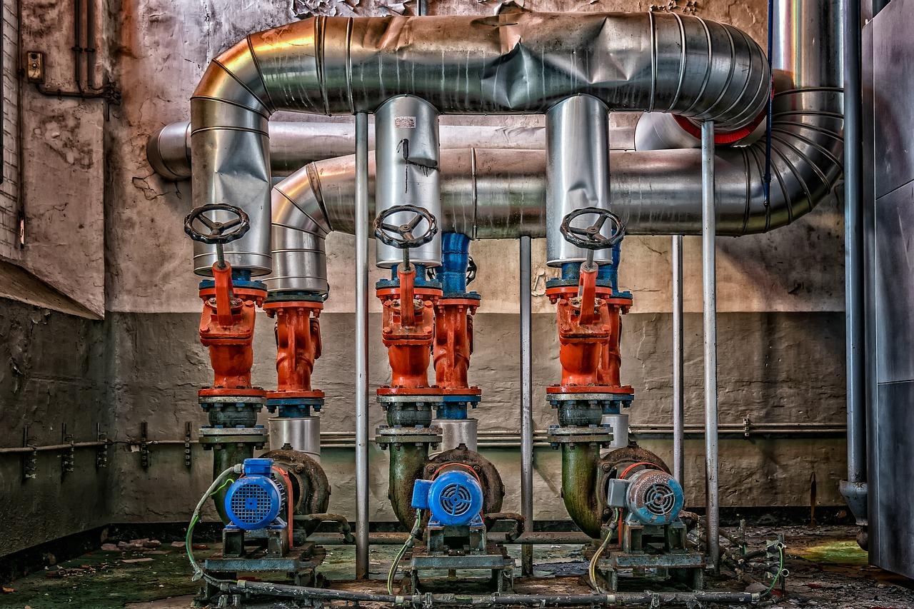 Zawory używane przy podłączeniach wody