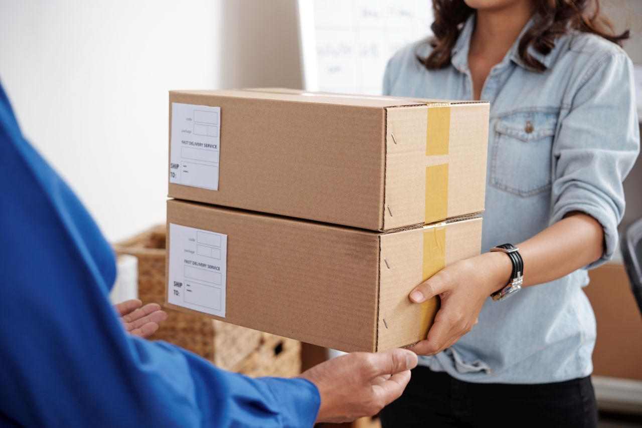 Artykuły przydatne do pakowania towaru
