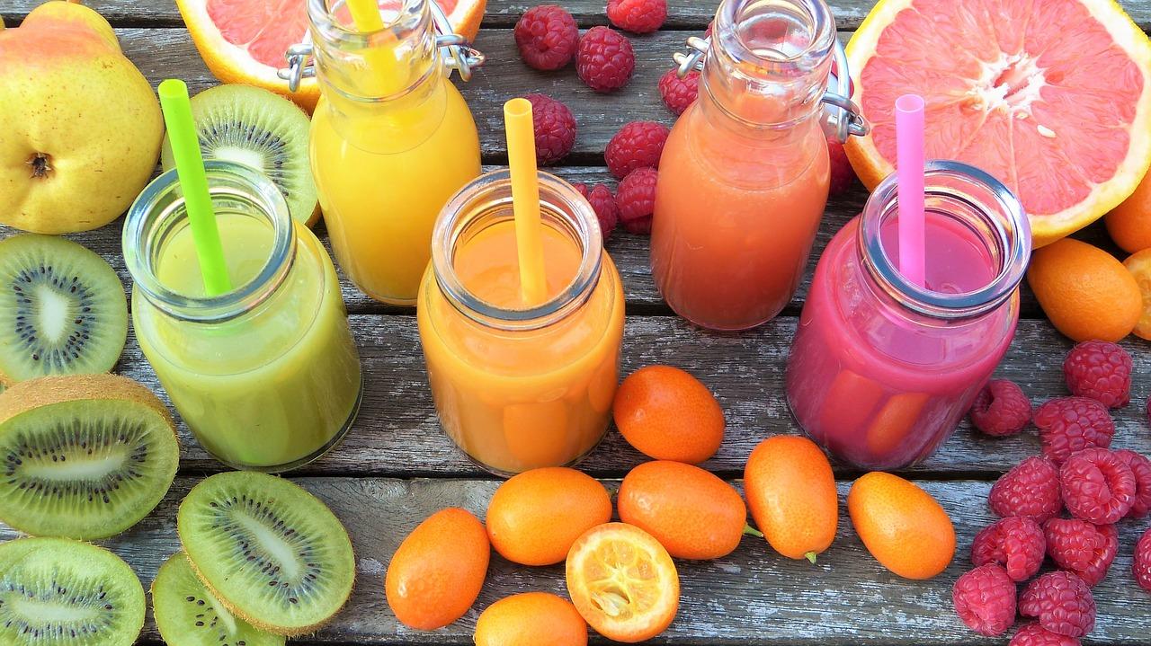 Kiedy pić soki z owoców i warzyw?