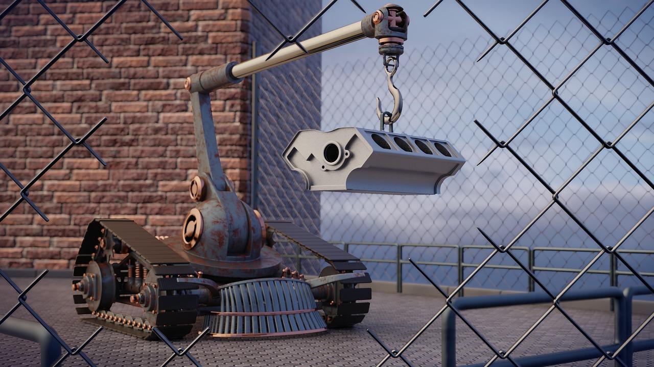 Do jakich prac wykorzystywane są najczęściej roboty przemysłowe?